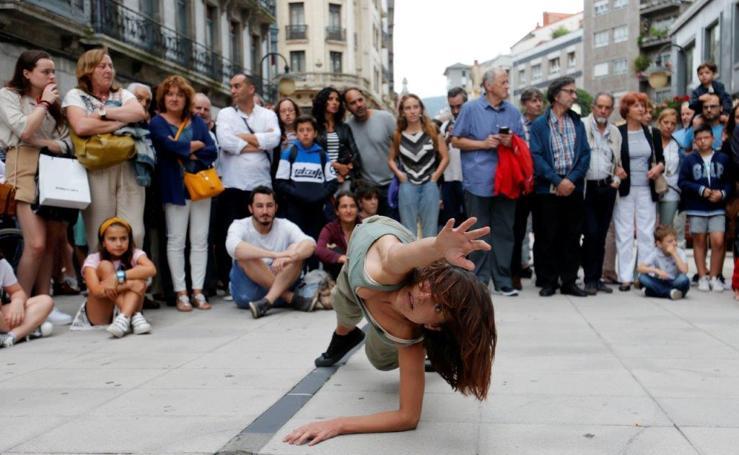 La danza sale a la calle en Oviedo