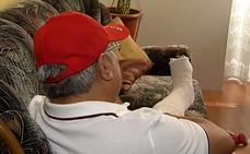 Brutal agresión de un taxista a un conductor de Cabify: «Me pateó hasta fracturarme el tobillo»