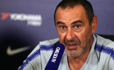 Sarri confía en retener a Courtois en el Chelsea