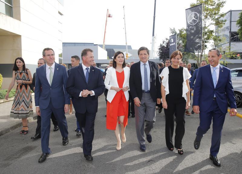 La ministra Carmen Montón inaugura la 62 Feria de Muestras de Asturias