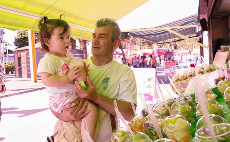La Feria de Muestras de Asturias, en un intenso día de calor