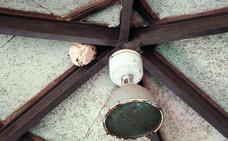 Aparece «un gran nido de avispa asiática» en el Pueblo de Asturias de la Feria de Muestras
