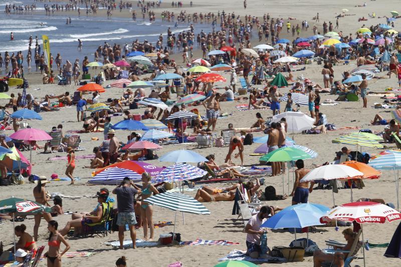 Playas, parques y terrazas para sobrellevar el calor