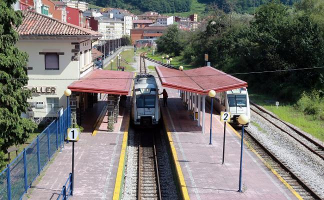 Un tren sufre una nueva avería tras restituir Renfe el tráfico en Aller