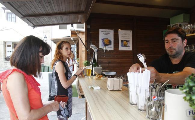 Los hosteleros destacan el éxito de ventas de Sabores de Plaza en Plaza