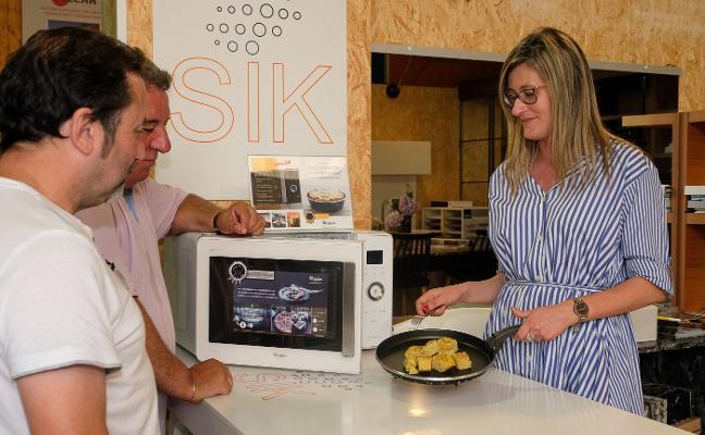 Un microondas que puede hacer tortillas