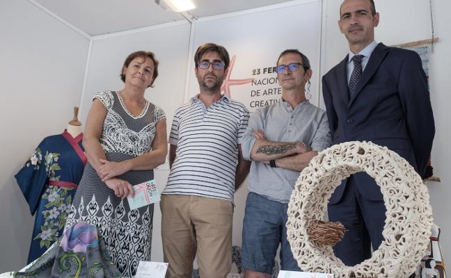 La ceramista Mar Antón gana el concurso de artesanía