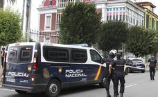 Un aviso de bomba obliga a cortar una calle en Gijón