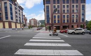 Herida grave una mujer tras un atropello en Oviedo