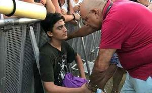El gesto del padre de Ana Guerra que se ha vuelto viral