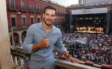 El emotivo pregón de Saúl Craviotto abre la Semana Grande de Gijón