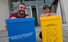 Siete recintos deportivos de Siero podrán reciclar papel, cartón y envases