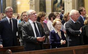 Familiares y amigos despiden a María Inés Figaredo en Oviedo