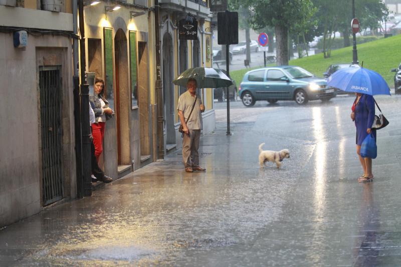 Asturias, en alerta por fuertes lluvias