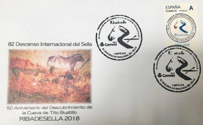 Correos edita sobres y sellos por el aniversario de Tito Bustillo