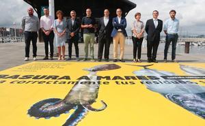 El Ayuntamiento de Gijón y el Puerto impulsan una campaña para concienciar sobre el uso de plásticos