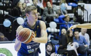 David Geks seguirá una temporada más en el Liberbank Oviedo Baloncesto