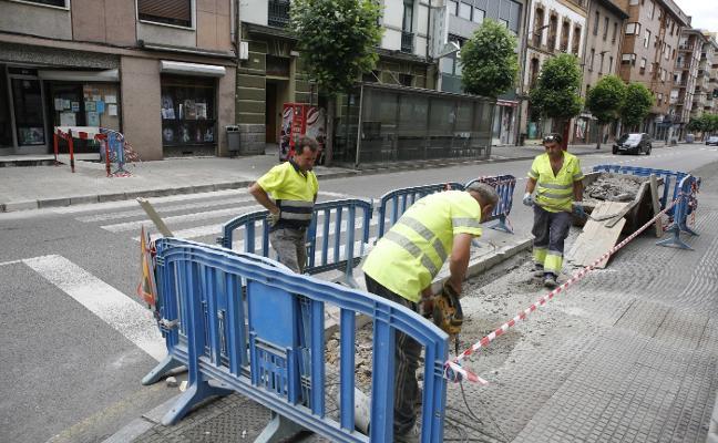 San Martín eleva dos pasos de cebra para dar más seguridad