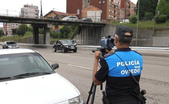 El radar móvil de Oviedo estuvo casi dos años parado porque solo funcionaba de forma manual