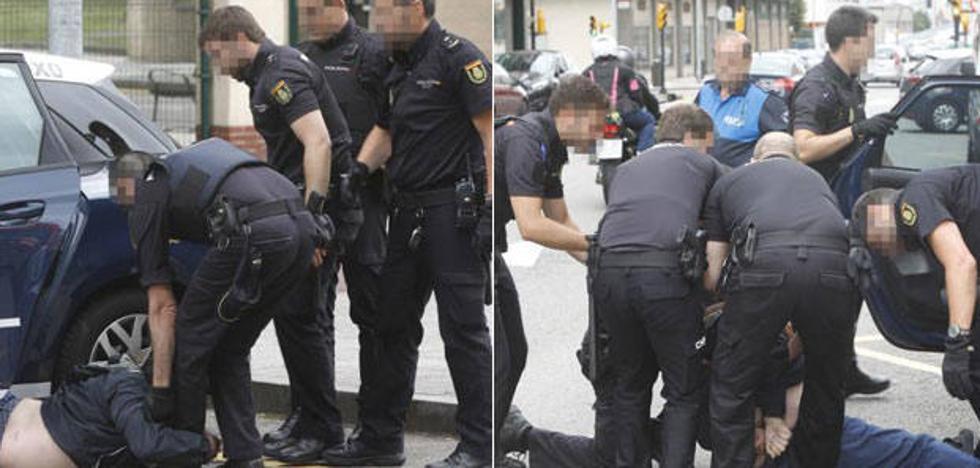 Agrede a los policías que evitaban que condujese en estado ebrio en Gijón