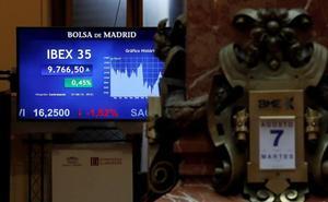 El Ibex-35 salva el día pese a la tensión internacional
