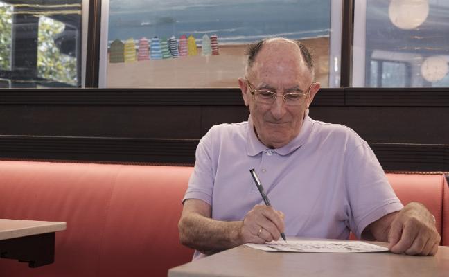 Carlos Roces: «La suerte para vivir del arte hay que buscarla»