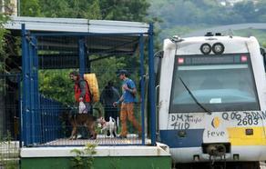 Renfe recupera el servicio en Aller tras una semana sin tren entre Moreda y Collanzo