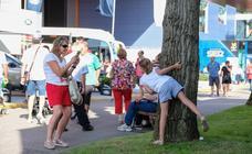 El sol en Asturias anima a acudir a la Feria