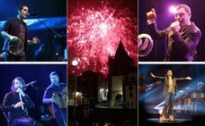 La senda festiva de la Semana Grande de Gijón hasta la noche de los Fuegos