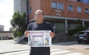 Xixón Sí Puede presenta una nueva denuncia por los carteles pegados en su sede el 2 de agosto