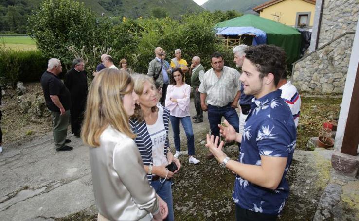 Oskar Proy conoce la aldea en la que nació su abuela