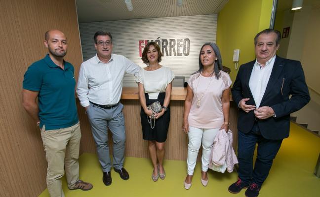 Ciudadanos defiende la innovación en una visita a El Hórreo