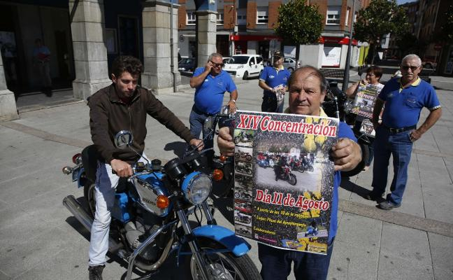 Laviana disfrutará hoy de la XIV concentración de motos Sanglas