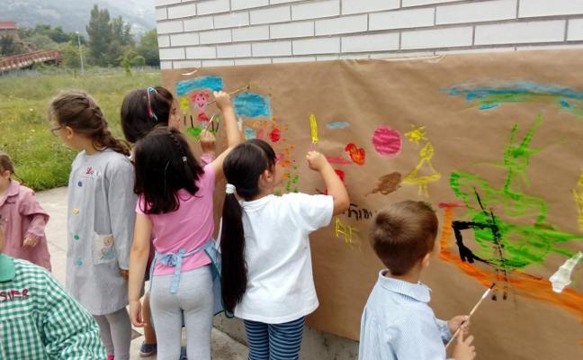 140 niños participaron en los campamentos urbanos de Aller