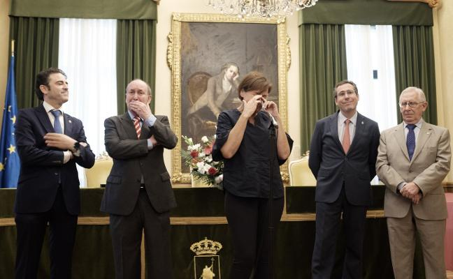 Emotiva recepción de Moriyón a los ingenieros técnicos
