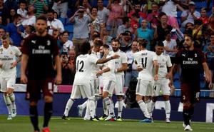 Bale lidera al Madrid ante el Milan