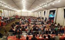 Más de 470 personas acuden a la parrillada celebrada en San Justo