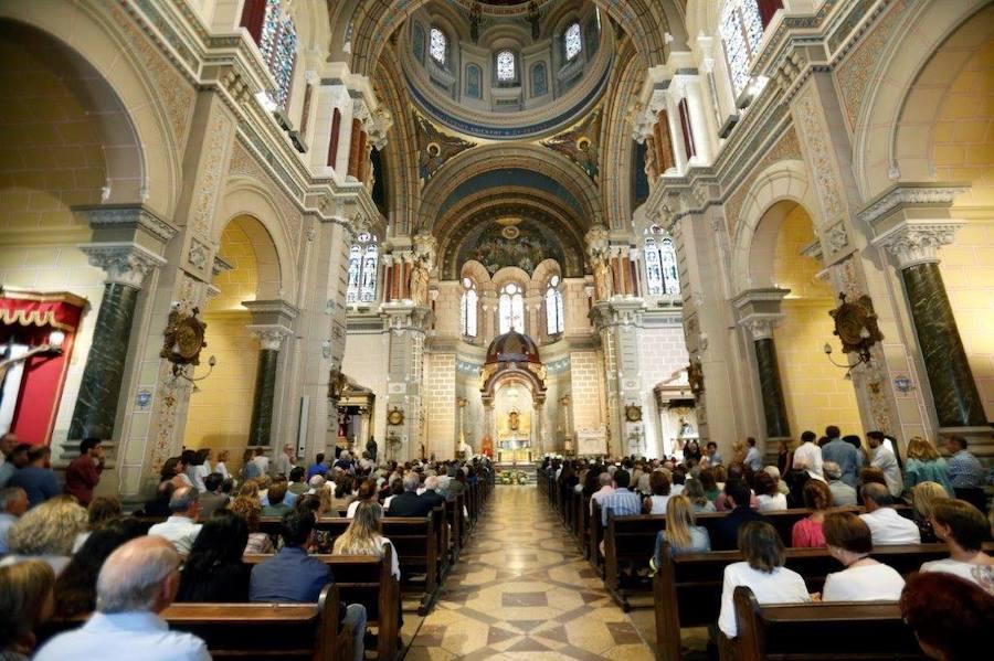Oviedo despide a Íñigo Tartiere en la Basílica de San Juan