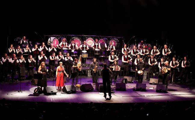 'Asturianaes' para cerrar el festival de Lorient