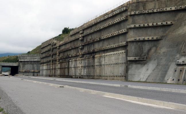 La ladera de la variante tendrá su solución en 2019 después de trece años de deslizamientos
