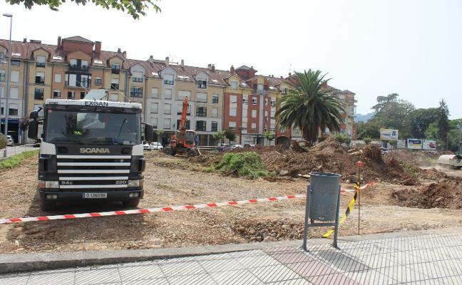 Villaviciosa contará con una nueva zona de aparcamiento en el casco urbano