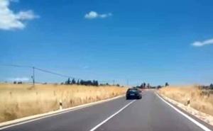 Graban la extraña actitud de un conductor que acaba provocando un accidente mortal