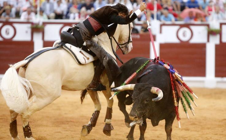 Andy Cartagena y Diego Ventura salen a hombros de El Bibio