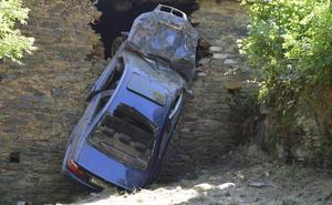 Tres heridos en un accidente en Las Fraguas, en Cangas del Narcea