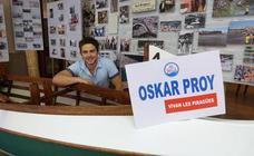 Oskar Proy se despide de Asturias con la promesa de volver