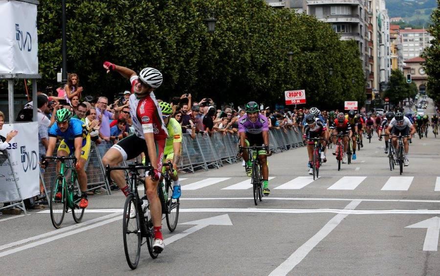 Julen Amarika se impone en la Vuelta a Vetusta