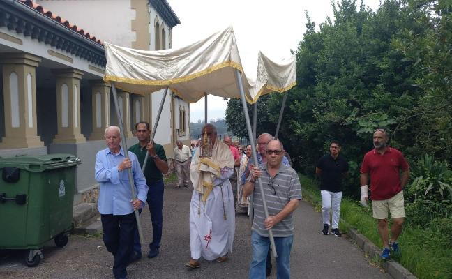 Los vecinos de Albandi celebran sus fiestas sacramentales