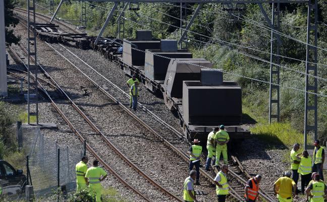 Un mercancías sufre el sexto descarrilamiento de trenes en ocho meses