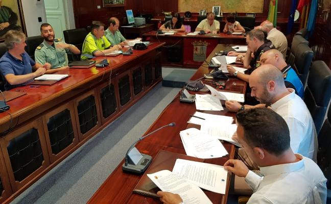 Más de 200 efectivos velarán por la seguridad durante las fiestas de Luarca