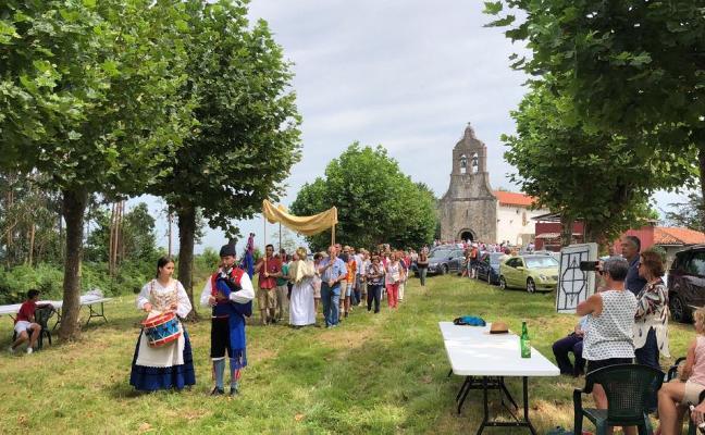 El pueblo riosellano de Moru celebra San Salvador